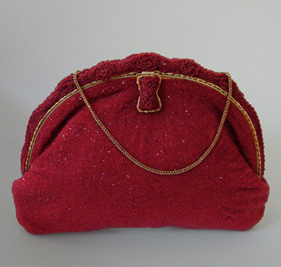 Handtasche___Glasperlen Stickerei___1945